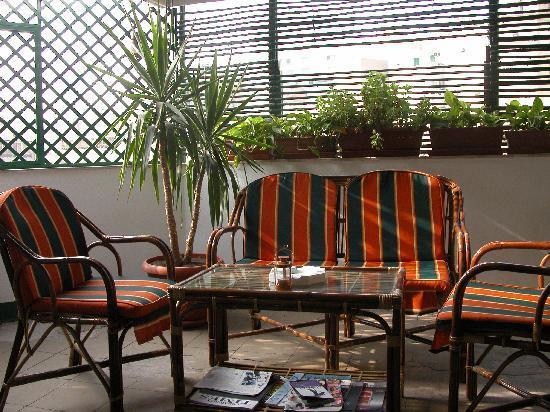 Hotel Longchamps: Dachterasse