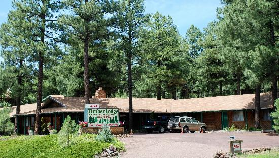 Pinetop-Lakeside, อาริโซน่า: Roadside view