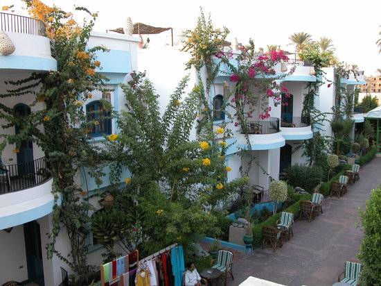 El Gezira Hotel : Aussenansicht