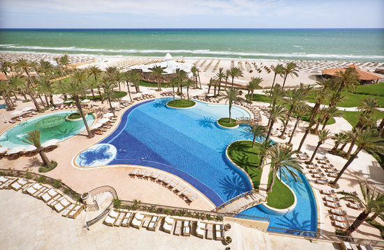 Moevenpick Resort & Marine Spa Sousse: Piscine
