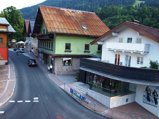 Hotel Schattauer: Fensterblick
