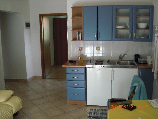 Vila Kristina: Blick ins Appartement
