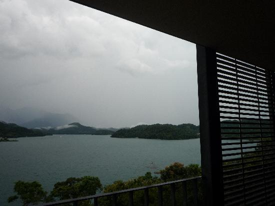 The Lalu Sun Moon Lake : View from Balcony