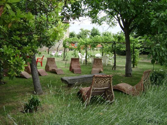 Villa El Shaddai : il giardino