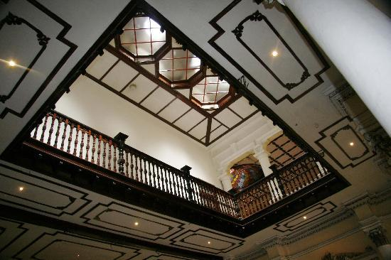 The Mansion: View from the banquet hall