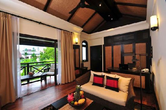 Ansara Hotel: Suite Affair (Living room)