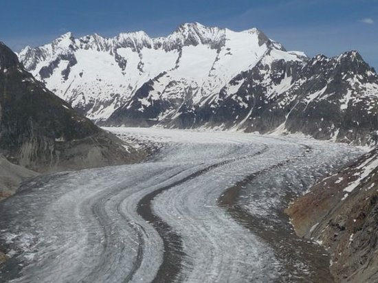Jungfrau Region, Sveits: Aletschgletscher
