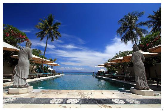 Mangsit, Indonesien: Pool hotel