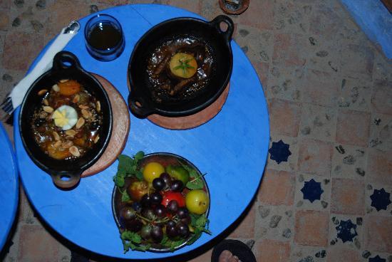 Dar Echchaouen: Délicieux dîner