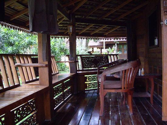Vongdeuan Resort : Balkon
