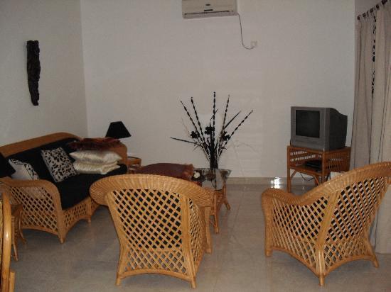 Villa Suriyagaha: Wohnzimmer in der Villa Sri Gaha
