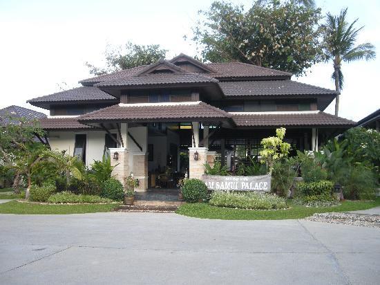 Am Samui Palace: Entrance