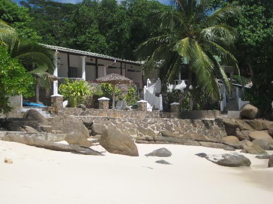 Anse Soleil Beachcomber: Hôtel vu de la plage