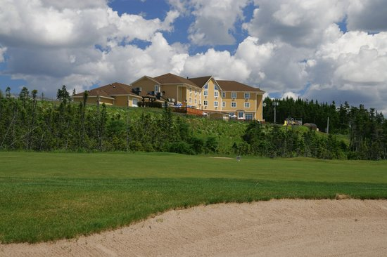 Holyrood, Canada: View from 18th Hole