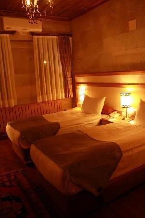 Goreme Kaya Hotel: 部屋