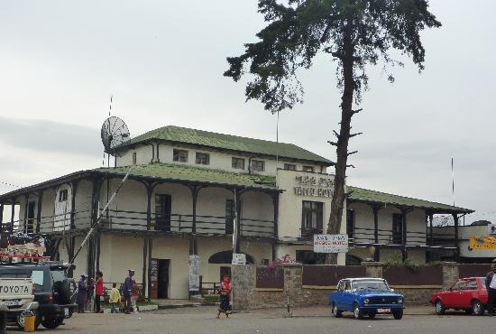 The Enterance of Taitu Hotel