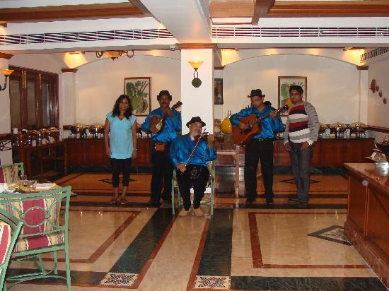 Taj Exotica Goa: Guitarist who play your favourite numbers as you eat away delicious food.