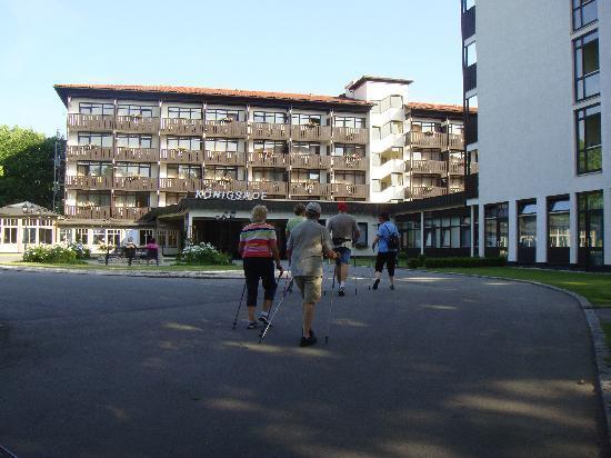 Johannesbad Hotel Königshof: Hoteleingang