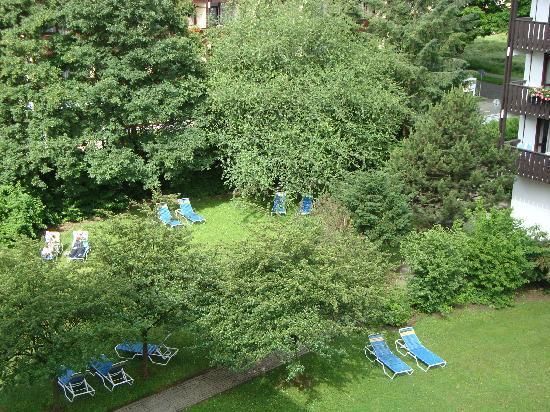 Johannesbad Hotel Königshof: Liegewiese