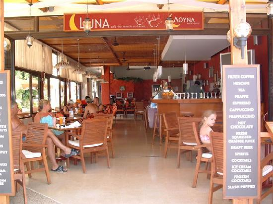 The Luna Bar by day