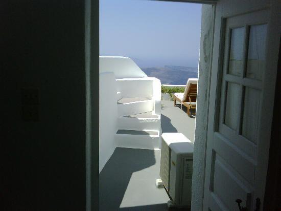 Uranos Traditional Houses: View from doorway !