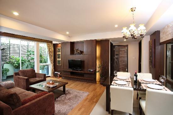 Amaranta Hotel: Presidential Suite's living room