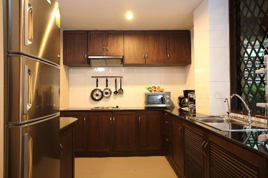 Amaranta Hotel: Presidential Suite's kitchen