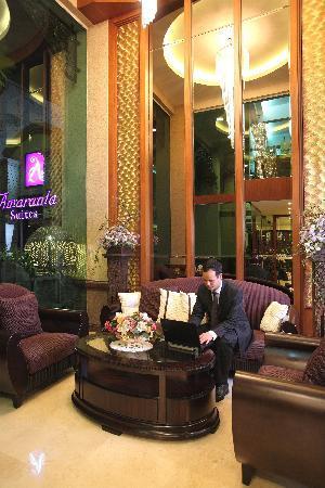 Amaranta Hotel: Lobby area