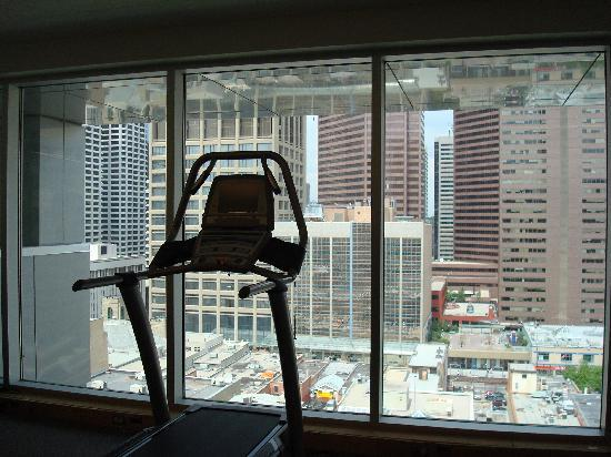 Hotel Le Germain Calgary: View from the gym