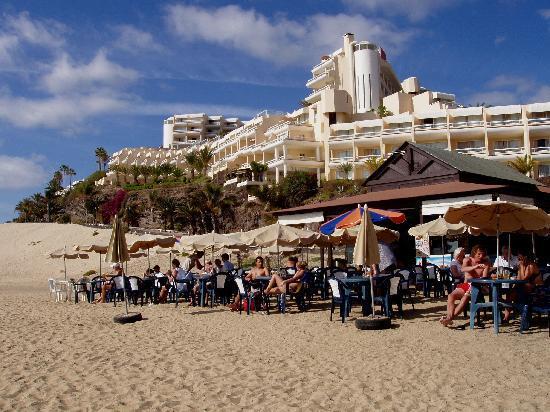 Hotel Riu Palace Jandia : Anblick vom Strand