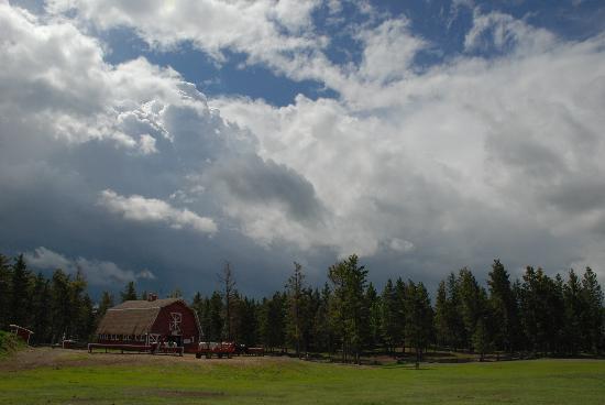 108 Mile Ranch, แคนาดา: the barn