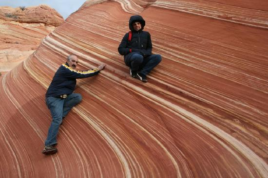 The Wave at Coyote Buttes: wave
