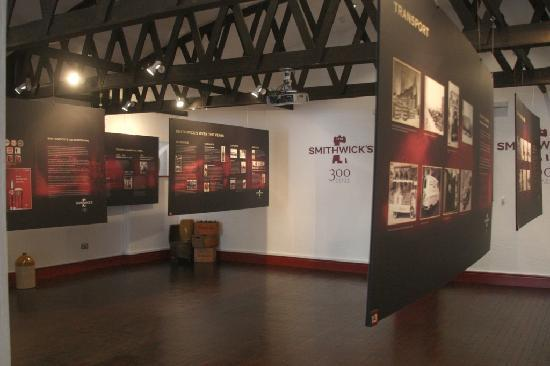 Kilkenny, Irlanda: Smithwick's Exhibition Space