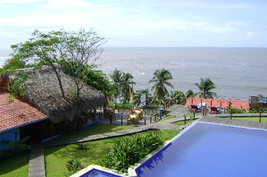 Kayu Resort: view from our room