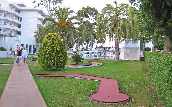 Grupotel Los Principes & Spa: Crazy Golf