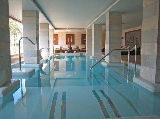 Grupotel Los Principes & Spa : Hotel indoor pool and Spa