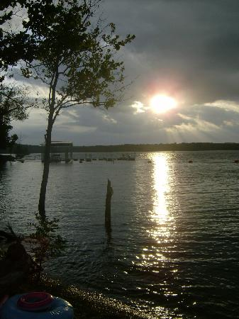 Table Rock Lake: sunset