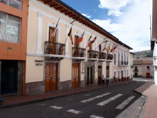 Hotel Boutique Plaza Sucre: Hotel