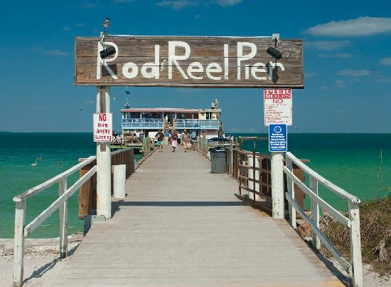 Rod Reel Pier Picture Of Anna Maria Island Florida