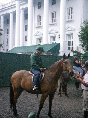 The Greenbrier: Horseback Trail Ride