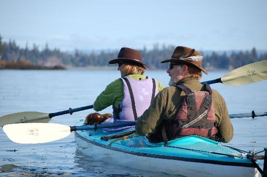 Seaside Adventure Cabins: our guides - Richard and Dorle