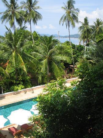 H tel chambre luxe avec balcon vue sur la mer un peu for Chambre luxe