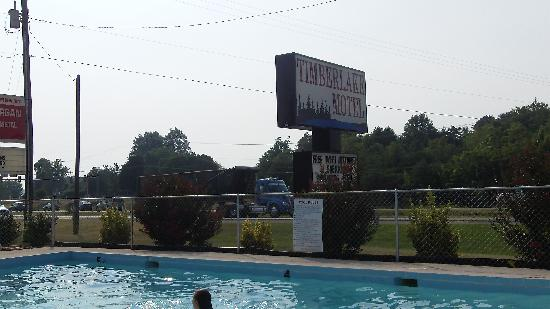 Timberlake Motel Lynchburg: From the pool
