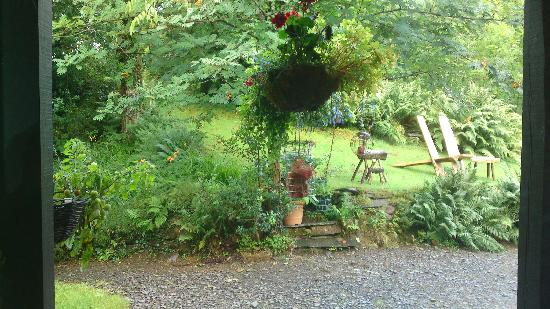 Coed Cae Bed & Breakfast: view from bedroom window