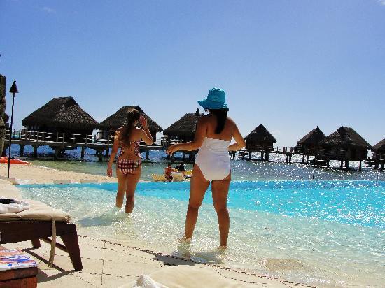 Manava Beach Resort Spa Moorea The Pool