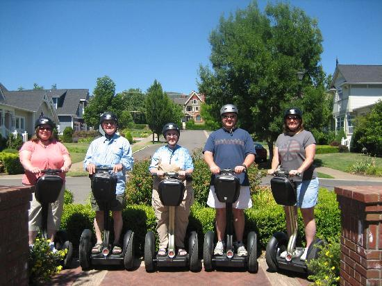 Segway of Jacksonville: Our group with the Nunan Estate in the background.