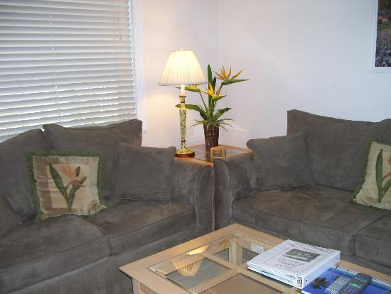 Bahama Beach Club Apartments : living room