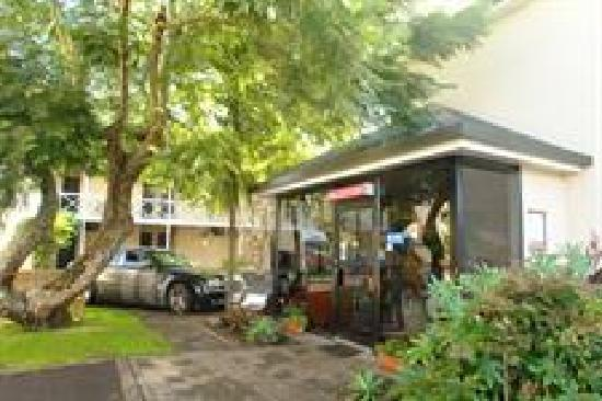 Auckland Newmarket Motel : Jacaranda Motor Inn Reception