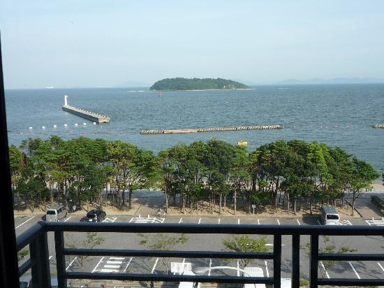 Nishio, ญี่ปุ่น: 海まで1分で水着のままホテルからいけます