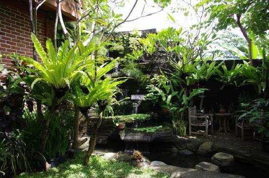 Seminyak, Indonesia: Courtyard